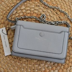 Marc Jacobs Empire City Leather Wallet Crossbody